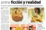Exponen obras falsas y bustos con coca