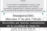 Organismo ideológico en sede temporal de la Galería Santa Fe