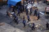 """La policía desaloja con balas de goma y lacrimógenos una fiesta """"ilegal"""" en Art Basel"""
