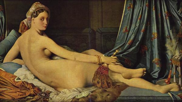 """Ingres, """"La gran Odalisca"""" (1814)"""
