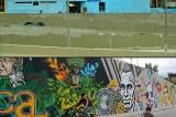 Borran los graffitis de la Avenida 26
