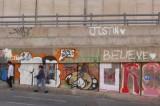Bogotá está rayada de tanto grafiti