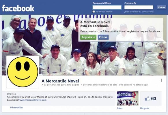 Una novela mercantil - Facebook