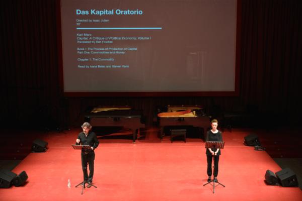 Das Kapital Oratorio, Isaac Julien