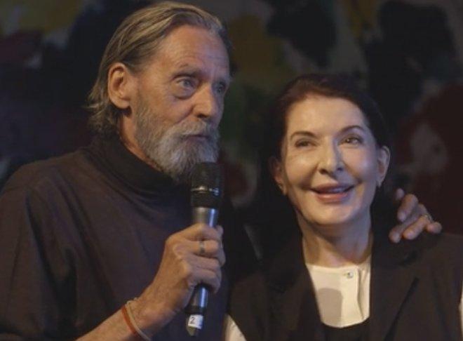 Performance Mediático: Marina Abramovic y Ulay se reconcilian